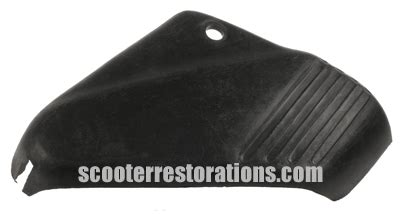 Plastic L Cover by Scooter Restorations Lambretta Scooter Spares Plastic Fork Cover L H Vijay Mkii