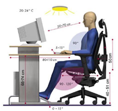 position assise bureau posture de travail assise et mal de dos les effets sur