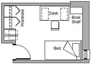 Room Floor Plan Free by University Of Manitoba Campus Student Residences