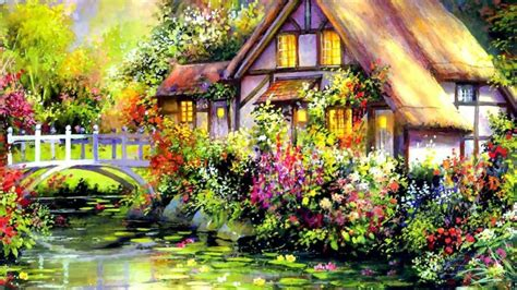house of flowers house of flowers wallpaper