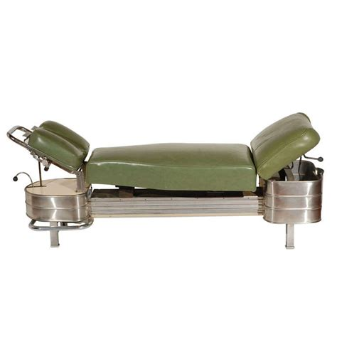 chiropractic bench 1940s chiropractor bench at 1stdibs