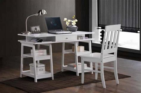 Coaster 801233 White Wood Writing Desk Set Steal A Sofa White Wood Writing Desk