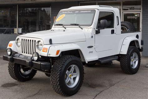 Jeep Tj Unlimited 2005 Jeep Wrangler Unlimited Black Rubitrux Conversion