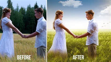 tutorial edit wedding photos in photoshop cs5 couple wedding photos editing in photoshop change