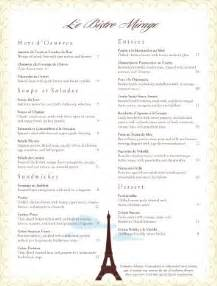 13 best images about french menus on pinterest fine