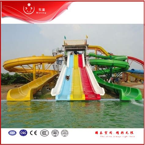 commercial fiber glass outdoor water theme park equipment