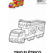Colorir Desenho Trio El&233trico  Desenhos Para