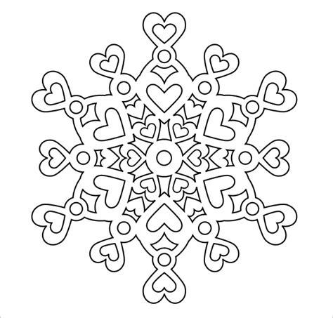 Free Snowflake Template Printable by Snowflake Templates 49 Free Word Pdf Jpeg Png Format