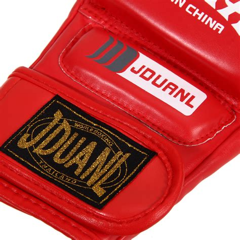 Mma Muay Thai Punching Bag Half Mitt Sparring Kick Boxing Adjustab mma muay thai half mitt trainning sparring kick boxing