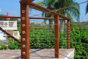 Stainless Steel Banister Handrail Metal Deck Railing Panels Deck Railing Photo Gallery