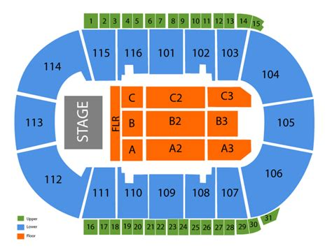copyright section 106 prospera place seating chart and tickets