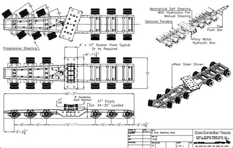 ui pattern exles 60 ton 6 axle steering dolly cozad trailers