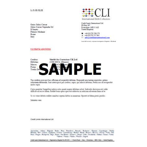 debt collection letter debt collection letter credit limits international