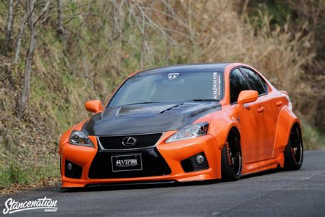 widebody lexus is250 closer look at vip gt is f by aimgain stancenation