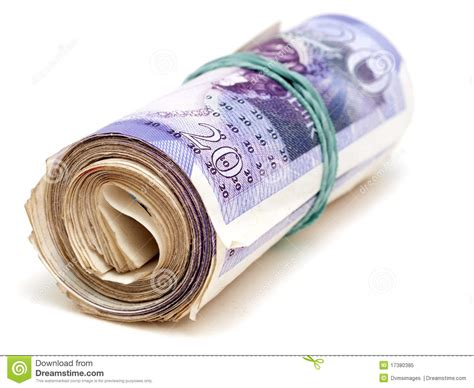 Rechnung Englisch Britisch Britische Banknoten Lizenzfreies Stockfoto Bild 17380385