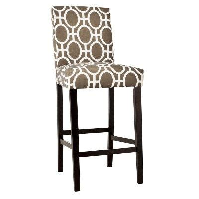 patterned counter height stools bar stool in trellis pattern from target new house ideas