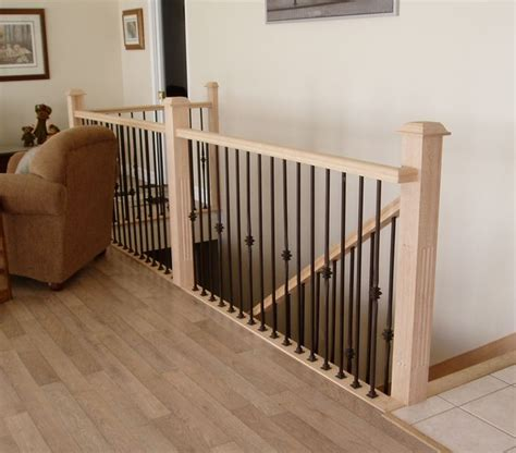 Cost Of New Banister by 1000 Images About Stair Rail From To Lower Level On