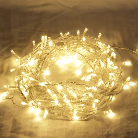 500 led warm white fairy lights wedding party christmas ebay