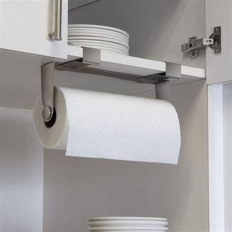kitchen towel holder ideas 5 favorites the no drill instant paper towel holder