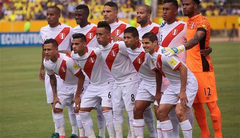 futbolistas peruanos que portaron la rusia 2018 peru lista para partidos argentina y colombia