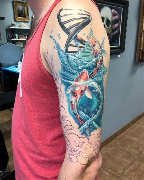 tattoo ideas koi sleeve 21 awesome koi fish tattoo designs ideas design trends