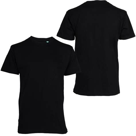 jual basic t shirt kaos polos hitam dan putih aseli