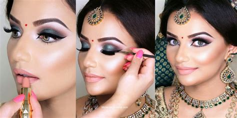 Latest Fancy Indian And Pakistani Bridal Makeup Step By