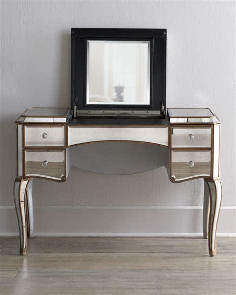 Vanity Desks With Mirror by Mirrored Vanity Desk