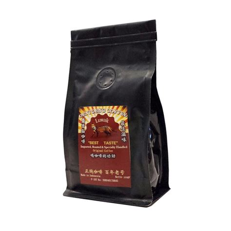 jual oentoeng kopi luwak bubuk kopi 100 g harga kualitas terjamin blibli