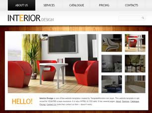 interior design online free interior design free website template free css templates