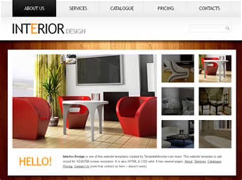 interior design free website template free css templates
