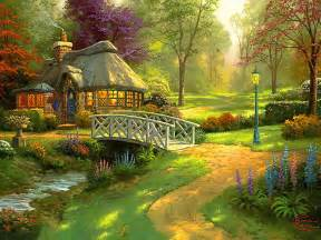 home interiors kinkade prints wallpapers