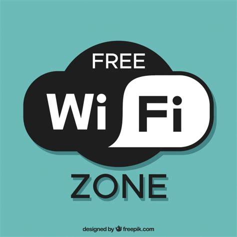 Wifi Gratis free wifi zone background vector free