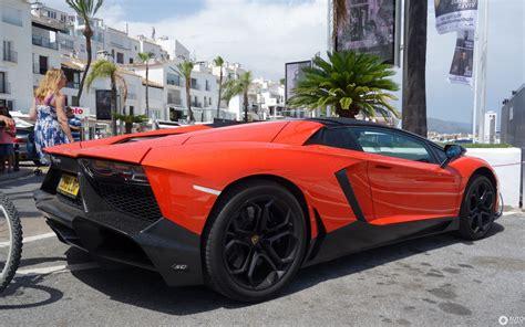 Lamborghini Aventador Lp 720 4 by Lamborghini Aventador Lp720 4 Roadster 50 176 Anniversario