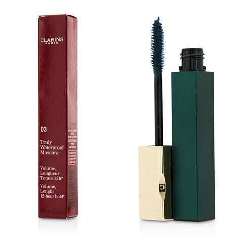 Ask The Audience Waterproof Mascara by Clarins Truly Waterproof Mascara 03 Aquatic Green
