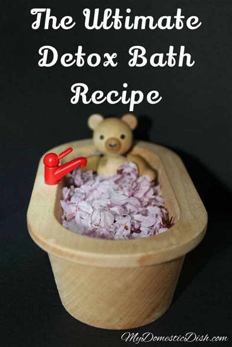 Tired After Detox Bath by Best Detox Bath Recipe Out There Recipes