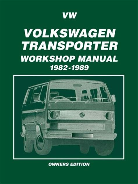 auto repair manual online 1988 volkswagen type 2 seat position control vw transporter owners manual newsletterloadfre