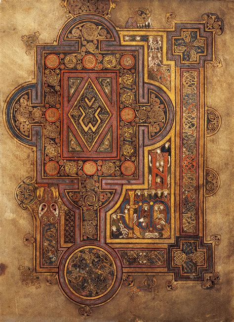 pictures of the book of kells book of kells ireland in context