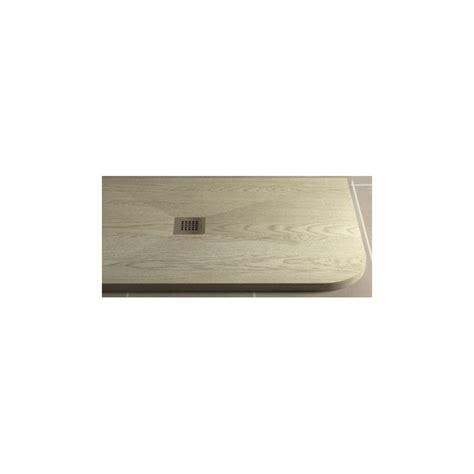 piatto doccia asimmetrico piatto doccia in pietra sintetica effetto legno 70x90 cm