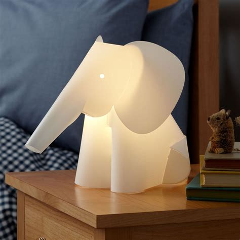 Elephant L Nightlight The Green Head Nursery Lights