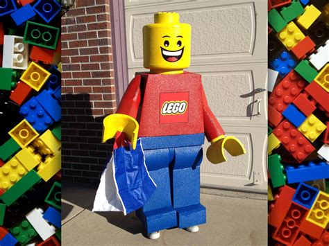 adult size legos lego minifigure costume made to order life size freestanding