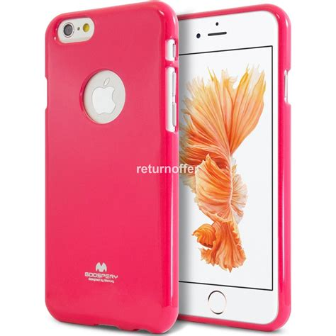 Silicon Jelly husa silicon jelly mercury iphone 6 6s pink