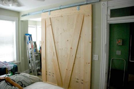 Barn Door Room Divider Boots And Totty S Barn Door Baby Room Divider Curbly