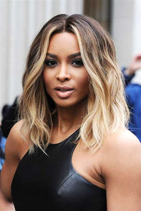 the newest look for ambre on bobs 20 best blonde ombre short hair short hairstyles 2017