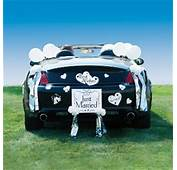 Just Married Car Decorating Kit  Decorations And