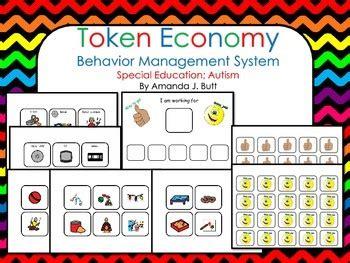 token reward system template behavior management token economy special education