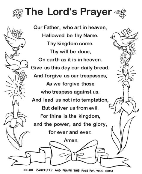 the lord is our salvation large print a lenten study based on the revised common lectionary scriptures for the church seasons books the prayer coloring page catholic coloring pages