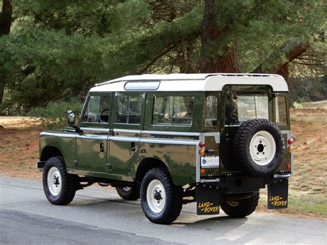 land rover series 3 4 door 1982 land rover series iii 109 5 door copley motorcars