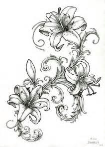 best 20 tiger lily tattoos ideas on pinterest lillies