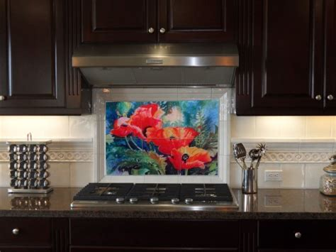 glass kitchen backsplash tile mural tile mural creative arts